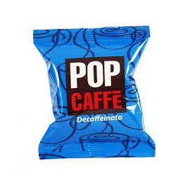 "25 CAPSULE ""DECAFFEINATO"" POP CAFFE' COMPATIBILI LAVAZZA ESPRESSO POINT"