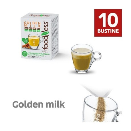 10 Bustine Monodose Golden Milk FoodNess una bevanda dalle mille virtu