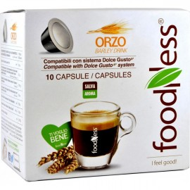 10 CAPSULE BEVANDA ORZO FOODNESS DOLCE GUSTO