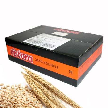 25 capsule Orzo Ristora compatibile Lavazza Point