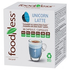 UNICORN LATTE 10 CAPSULE FOODNESS DOLCE GUSTO
